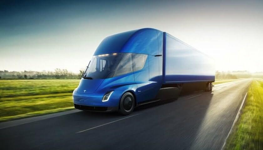 IoT Tesla kamion IOTNN