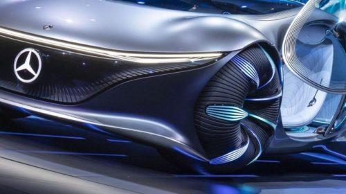 Az Avatar által inspirált autót mutatott be a Mercedes-Benz