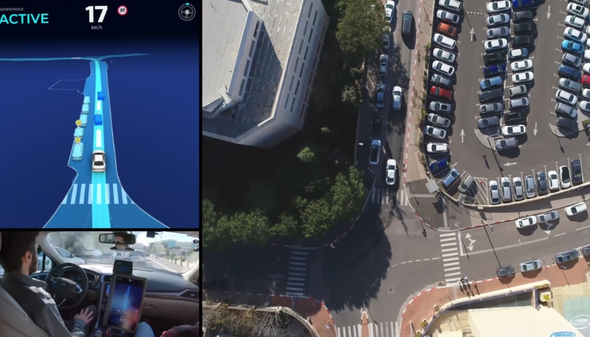 Mobileye's Camera-Driven Autonomous Vehicle