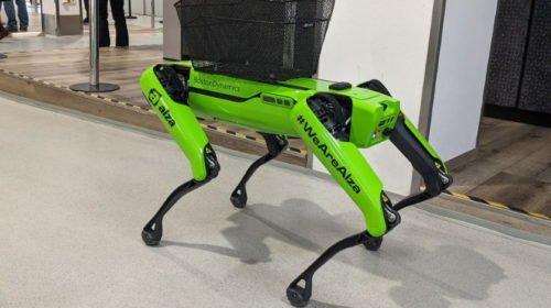 Most már Magyarországon is robotol a Boston Dynamics kutyája